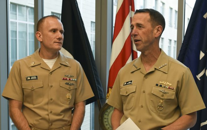 Safety Tops Sailors' Concerns in CNO, MCPON Online All Hands Call