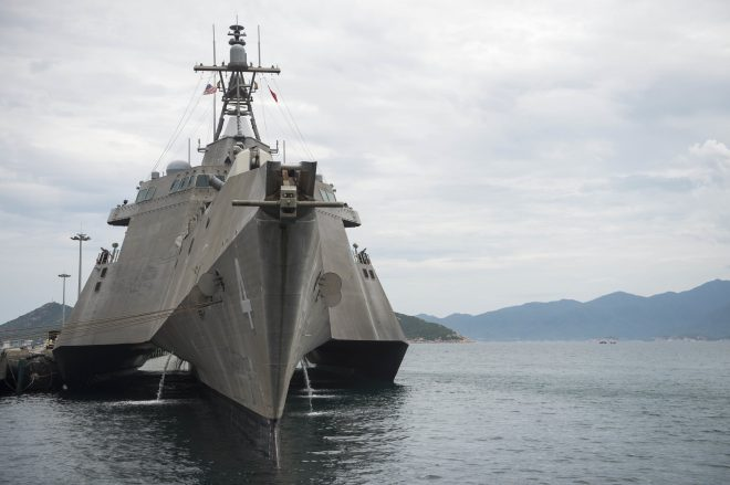 Navy Provides Details Littoral Combat Ship USS Coronado Missile Test, Future LCS Deployments