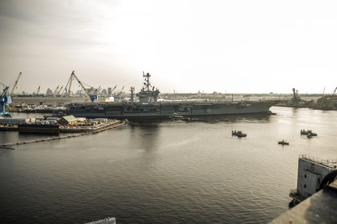 Norfolk Aircraft Carriers Seeing Success in OFRP Schedule, With Truman Out of Maintenance Early