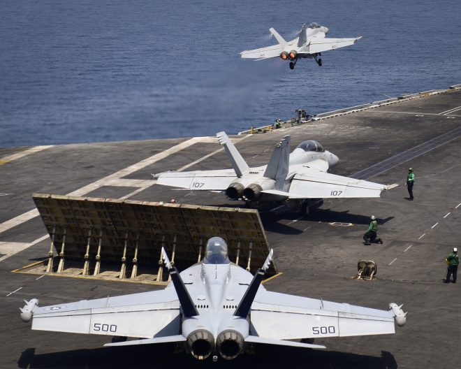 Nimitz Carrier Strike Group's Middle East Deployment Extended 9 Days