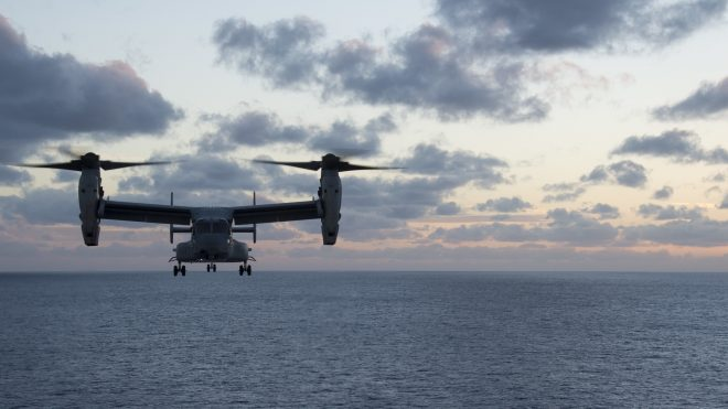 3 Marines Missing Off Australia Following MV-22 Mishap; 31st MEU, Bonhomme Richard Leading Search