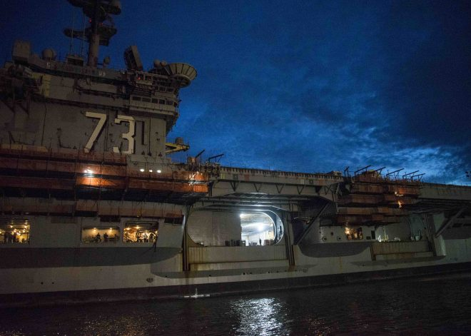 USS George Washington Will Return to Japan After Midlife Refueling, Overhaul