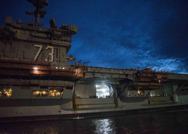 USS George Washington Will Return to Japan After Midlife Refueling, Overhaul