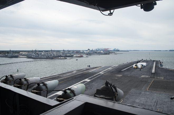 Carrier USS Dwight D. Eisenhower Heads to Norfolk Naval Shipyard for 6-Month Maintenance Availability