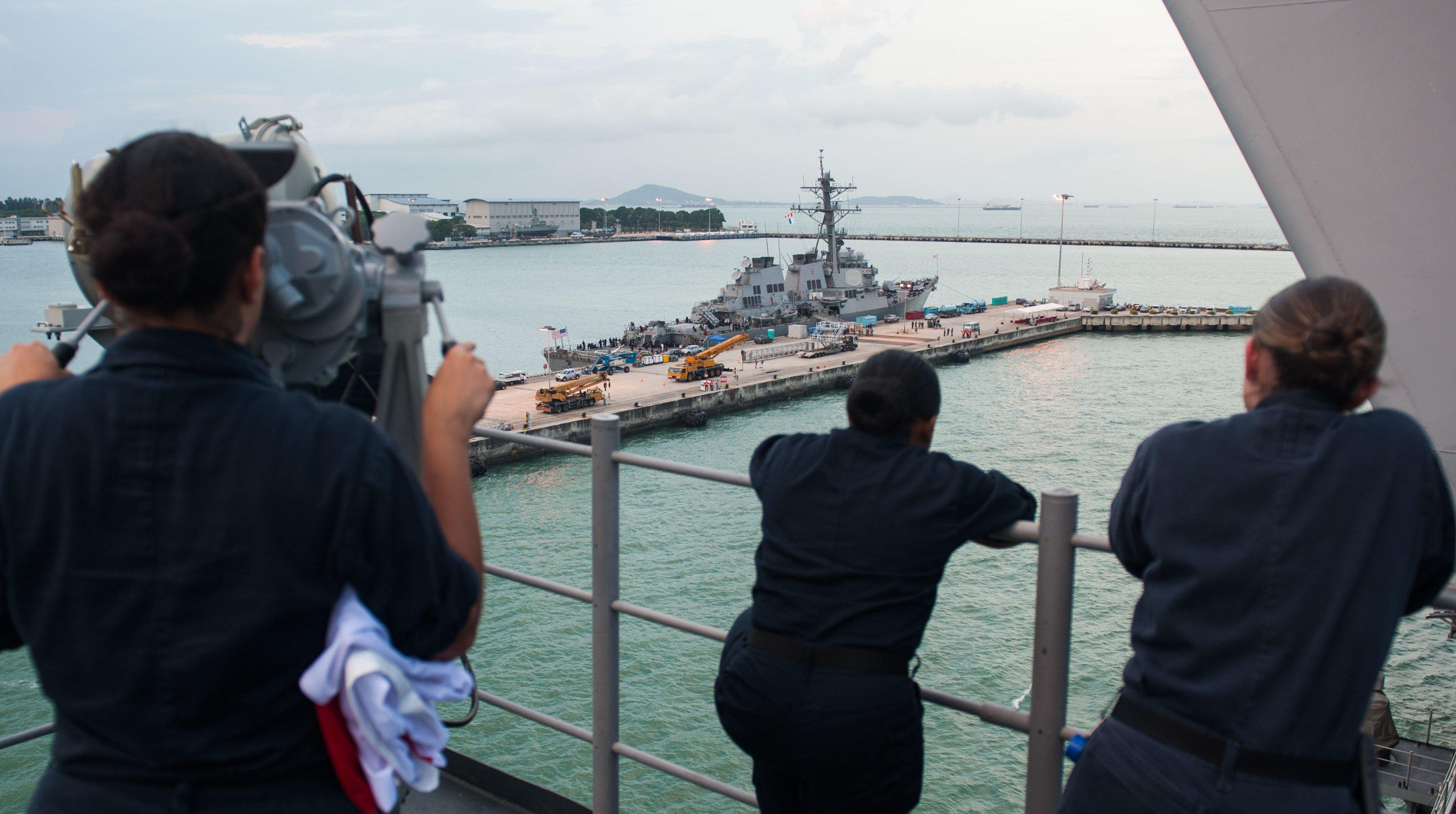 Navy 'Orion Hammer' Investigation into USS John McCain