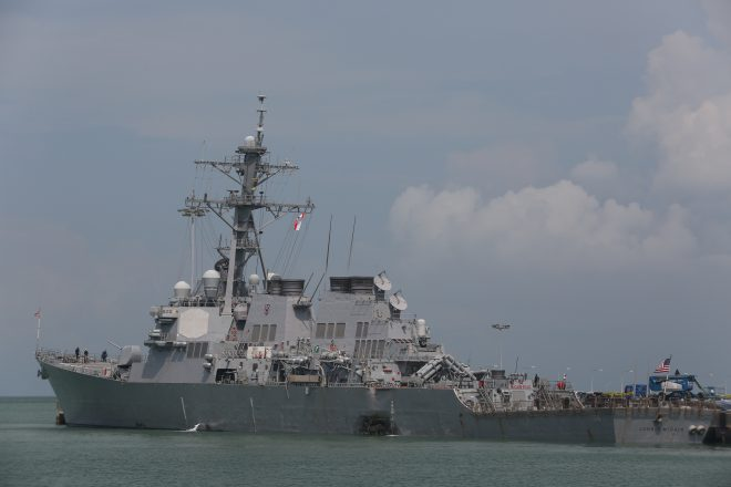 Memo Formally Starts Navy Investigation Into U.S. Pacific Fleet Incidents