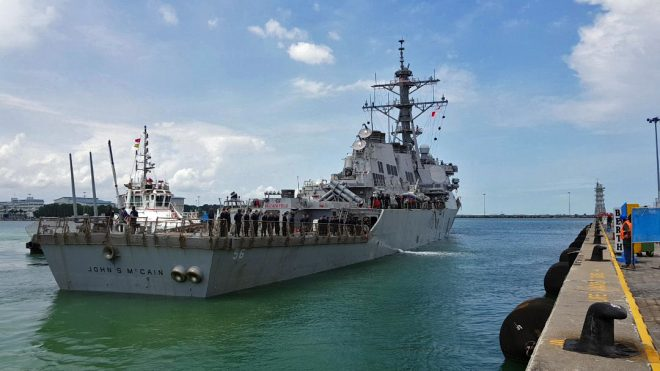 UPDATED: Senior Enlisted USS McCain Sailor Pleads Guilty to Dereliction Charge in Collision