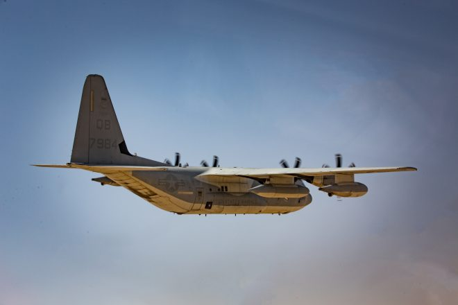 Marine Corps KC-130J Loses Pressure in Flight; 5 Treated for Decompression Sickness