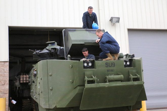 Marine Corps Awards AAV Survivability Upgrade Production Contract