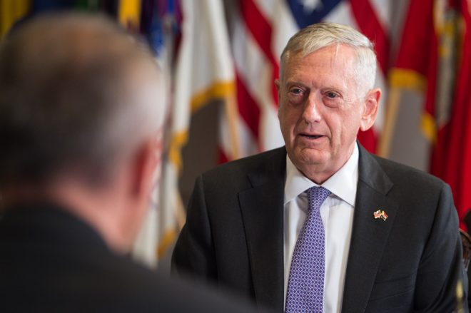Document: SECDEF Mattis  Letter to McCain on Effects of a New Continuing Resolution on the Pentagon