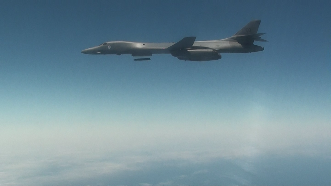 LRASM Succeeds in At Sea B-1B Bomber Tactical Launch Test