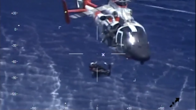 Video: Navy Reserve F-5 Crashes Off of Key West; Pilot in Good Condition After Coast Guard Rescue