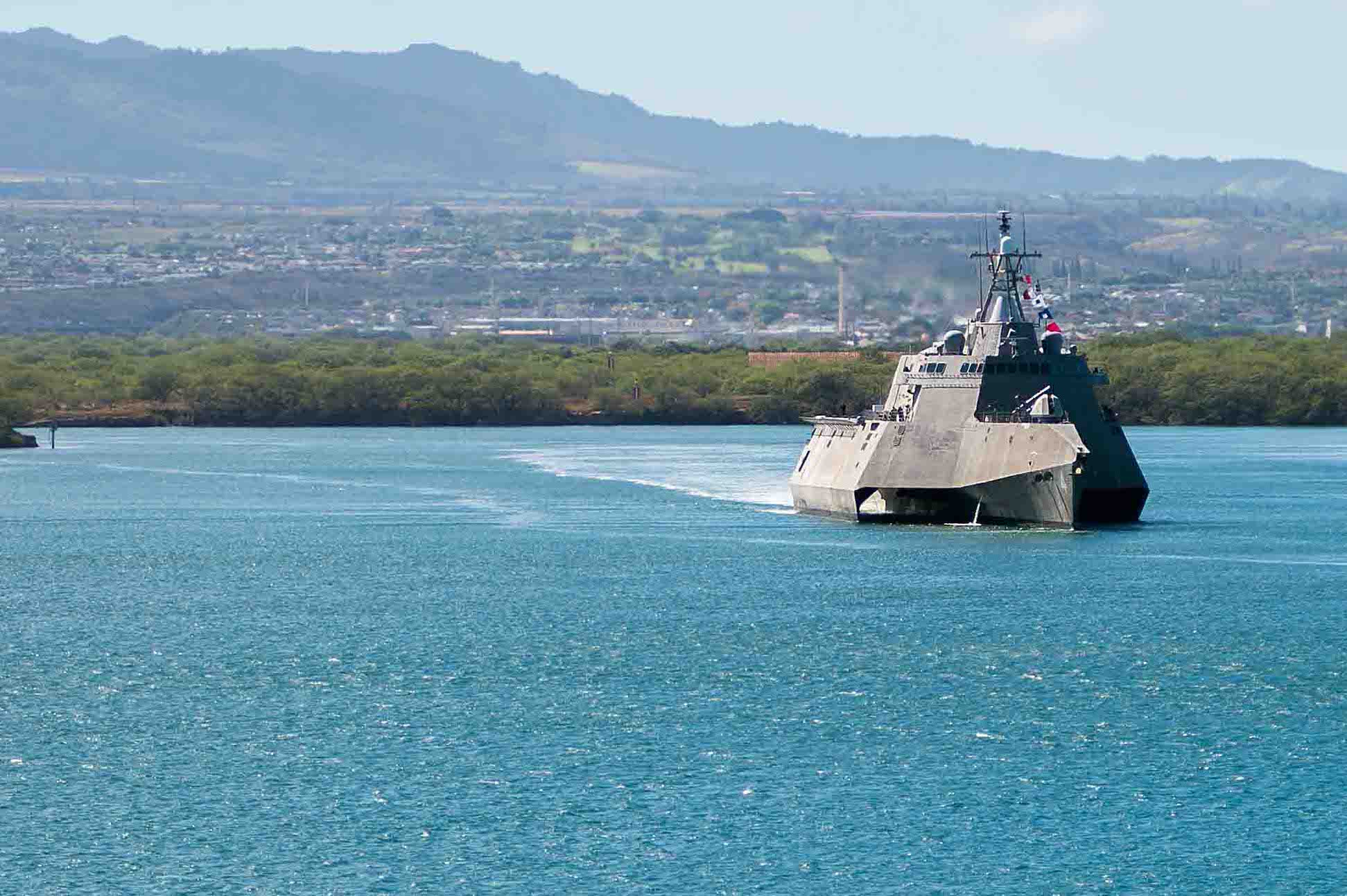 Littoral Combat Ship Sailors to Take on Greater Maintenance