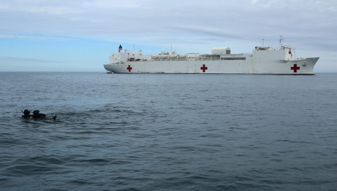 Navy Will Provide Puerto Rico with Direly Needed Hospital Services in Wake of Hurricane Maria