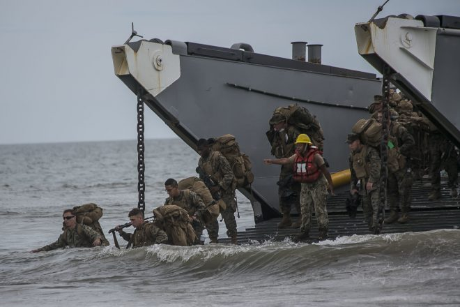 Neller: Marines Must Prepare to 'Fight to Get to the Fight' In High-End Littoral Warfare