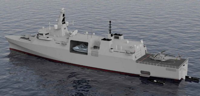 U.K. Next-Generation Type 31e Frigate Program Runs Aground