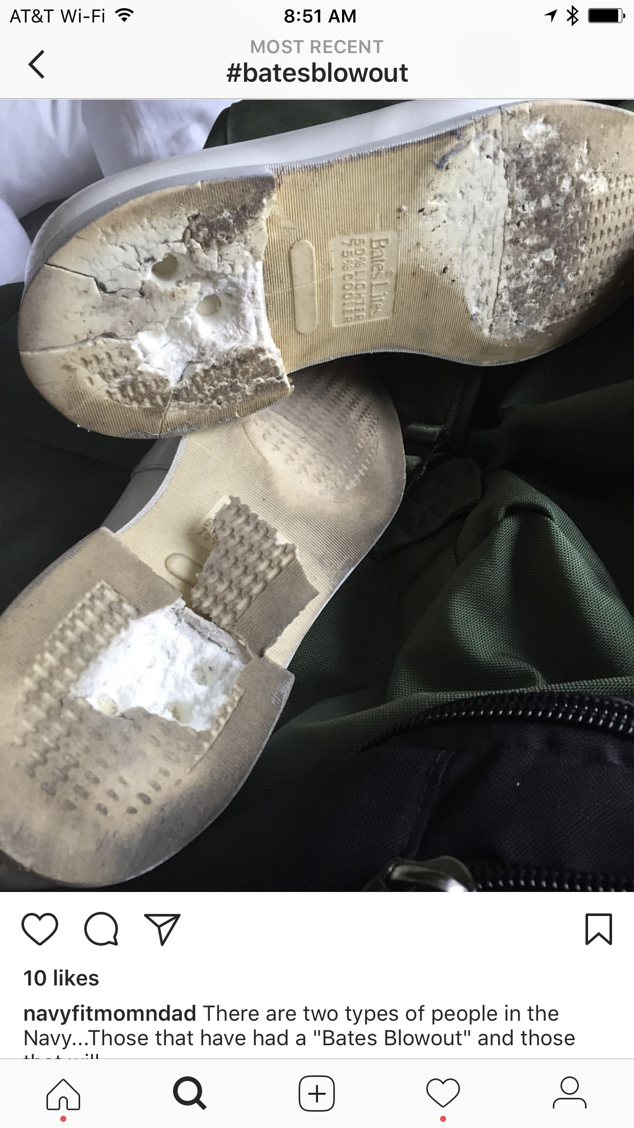 BatesBlowout: Sailors Frustrated With Uniform Shoe Failures