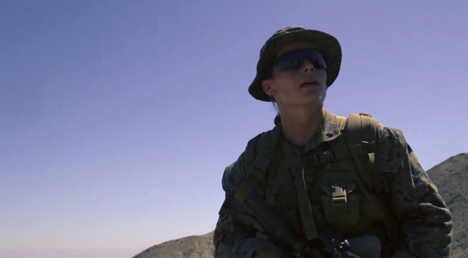VIDEO: First Female Marine Graduates from Infantry Officers Course