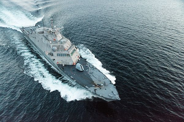 Navy Accepts Delivery of Littoral Combat Ship Little Rock