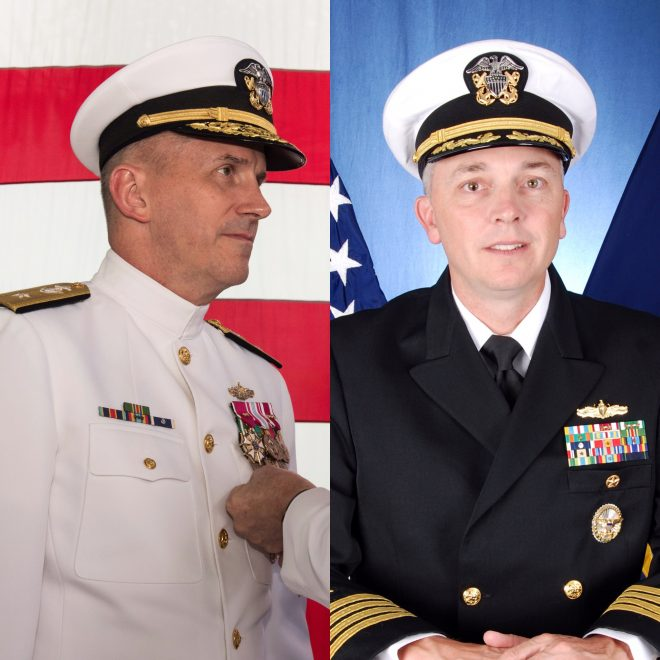 Admiral, Captain Removed in Ongoing Investigations into USS John S. McCain, USS Fitzgerald Collisions; Head of Surface Forces Puts in Early Retirement Request