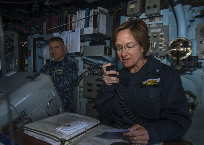 Rear Adm. Lisa Franchetti Nominated to Lead U.S. 6th Fleet