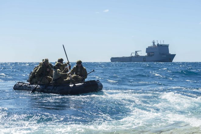 Australia's Amphibious Force Nearing Full Operational Capability