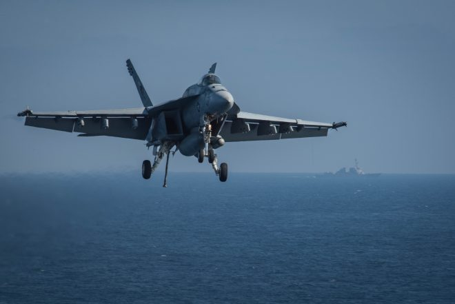 Boeing Examining High-Use Super Hornets to Validate Life-Extension Plans; Already Buying Material, Setting Up Facility