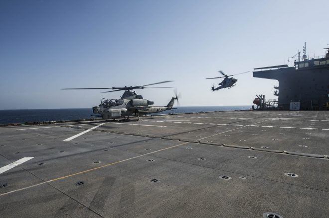Navy, Marines Ponder Alternative Platforms' Role as First ESB Now Operating in 5th Fleet