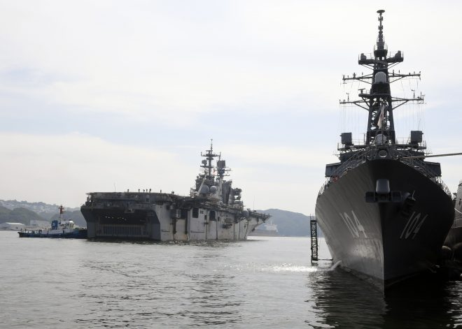 Navy Still Struggling With Readiness Balance Between Overseas and U.S.-based Forces