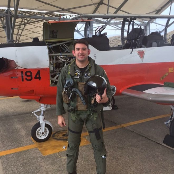 Navy Identifies Instructor, Student Killed in T-45 Crash as Lt. Patrick Ruth, Lt. j.g. Wallace Burch