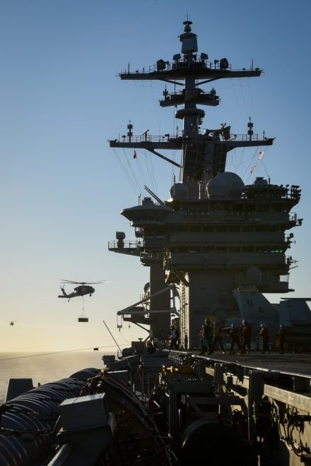 Theodore Roosevelt Strike Group Deploys From San Diego
