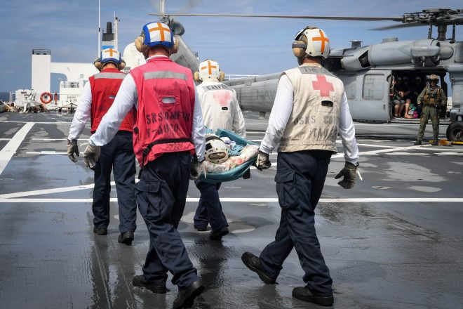 Navy Continues to Provide Medical Relief to Puerto Rico Following Hurricane Maria