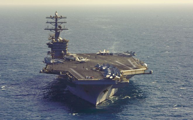 USS Nimitz to Visit Sri Lanka Saturday; First U.S. Carrier to Visit Colombo in More than 30 Years