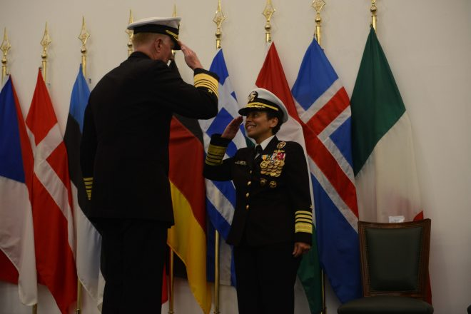 Foggo Takes Command of U.S. Naval Forces in Europe, Africa