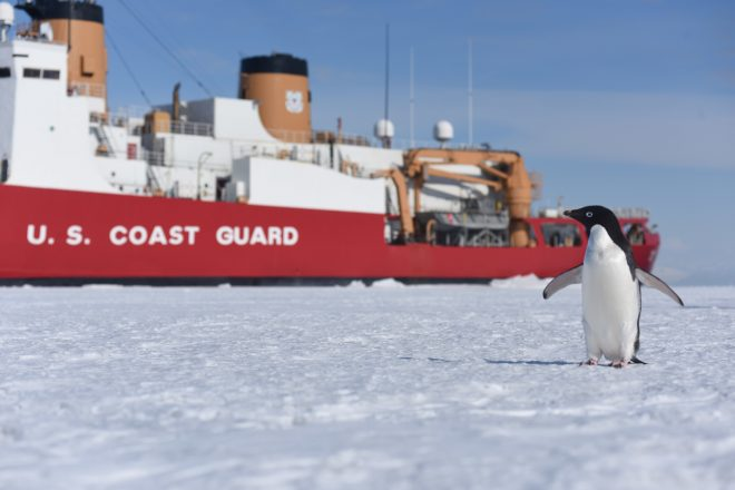 Coast Guard Releases Heavy Icebreaker Draft Request for Proposals