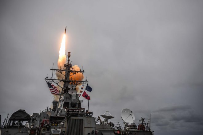 Navy, NATO Forces Conduct Integrated Air and Missile Defense Exercise Off Scotland