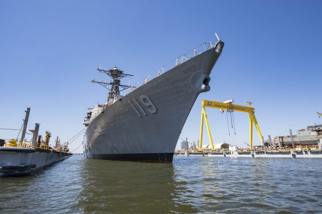 355-Ship Navy Could Take More Than Three Decades to Build, Acting Navy Under Secretary Says