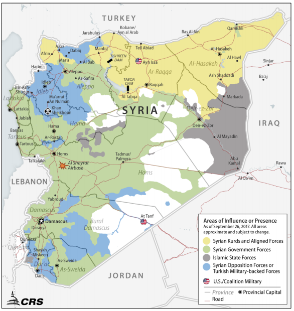 Report to Congress on Armed Conflict in Syria: Overview and U.S. Response