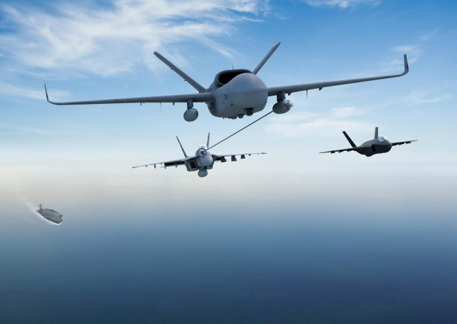 General Atomics, Boeing Autonomous System Division Team for MQ-25A Bid