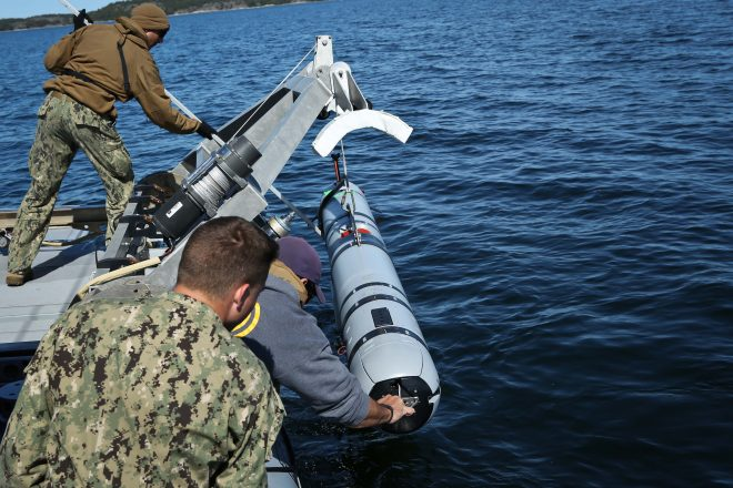 Navy Creating Continual Improvement Program for UUVs through OPNAV, Fleet, NAVSEA