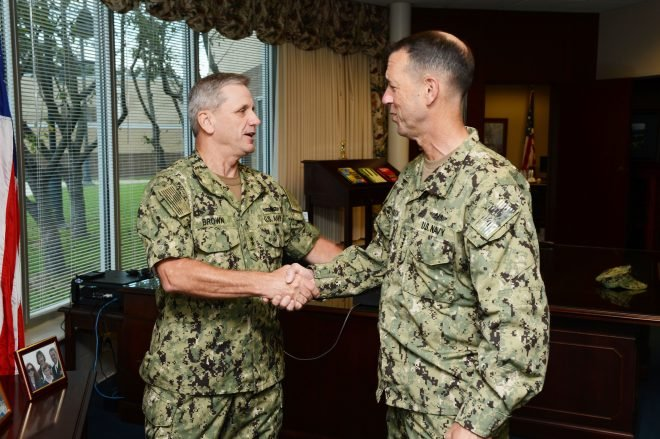Rear. Adm. Richard Brown Nominated to Serve as Next Commander of Naval Surface Forces