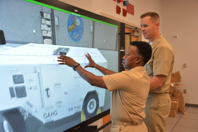 VCNO Moran: Navy Looking for Augmented Reality Trainers that are Portable, Integrated Across Domains