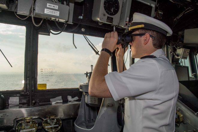 New Surface Warfare Officer Career Path Stresses Fundamentals; More Training Before First Ship, More Time At Sea