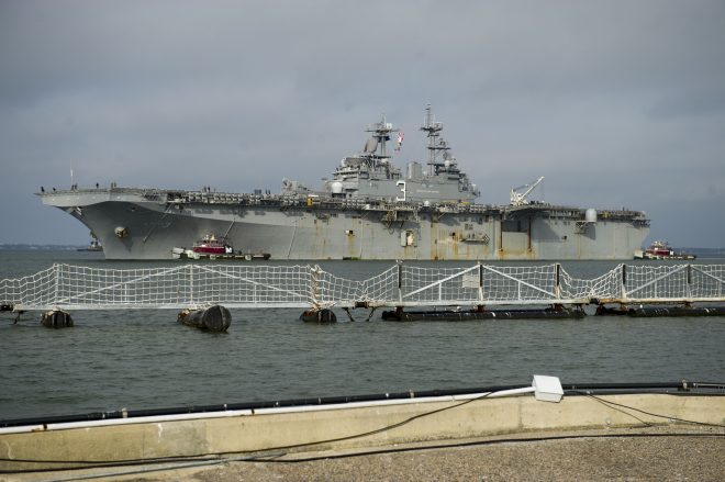 Kearsarge Returns to Norfolk After Two Months of Hurricane Relief Operations off Puerto Rico