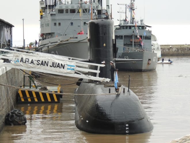 Argentine Armada Calls Off Search and Rescue for Missing Sub Survivors