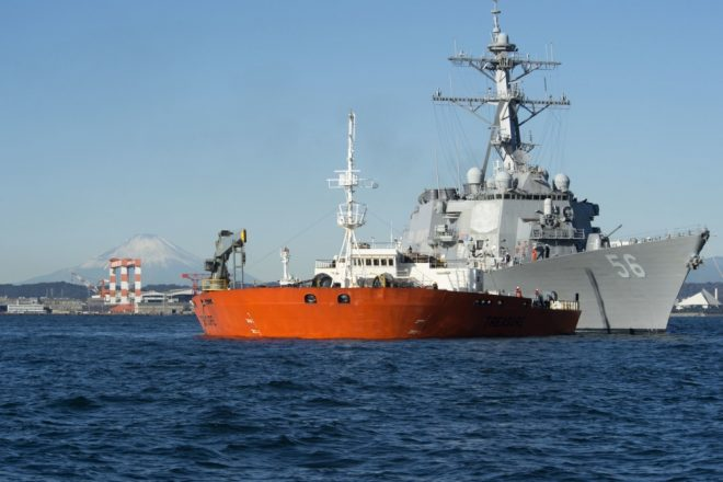 USS John S. McCain Now in Japan for Repairs Following Deadly August Collision