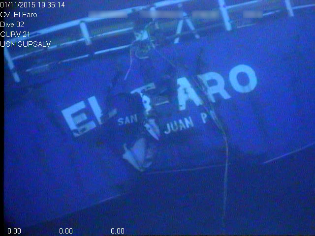 Coast Guard Civil Penalties Possible for Operator of Sunken SS El Faro