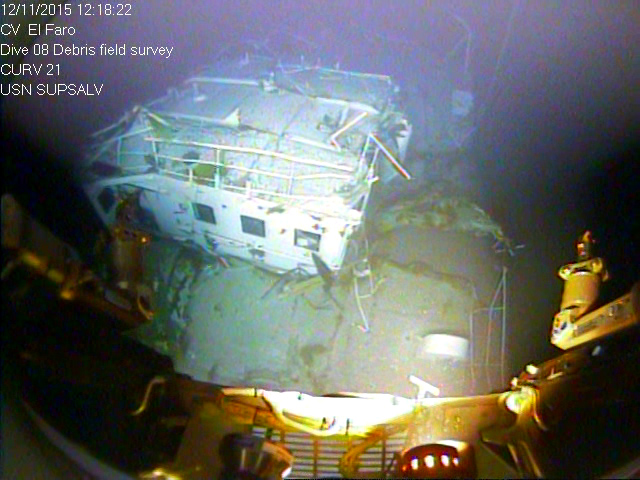 Document: U.S. Coast Guard Final Action Memo on the October 2015 Sinking of SS El Faro