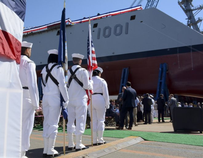 Electrical Problems Shorten Second Zumwalt-class Destroyer's Builders Trials