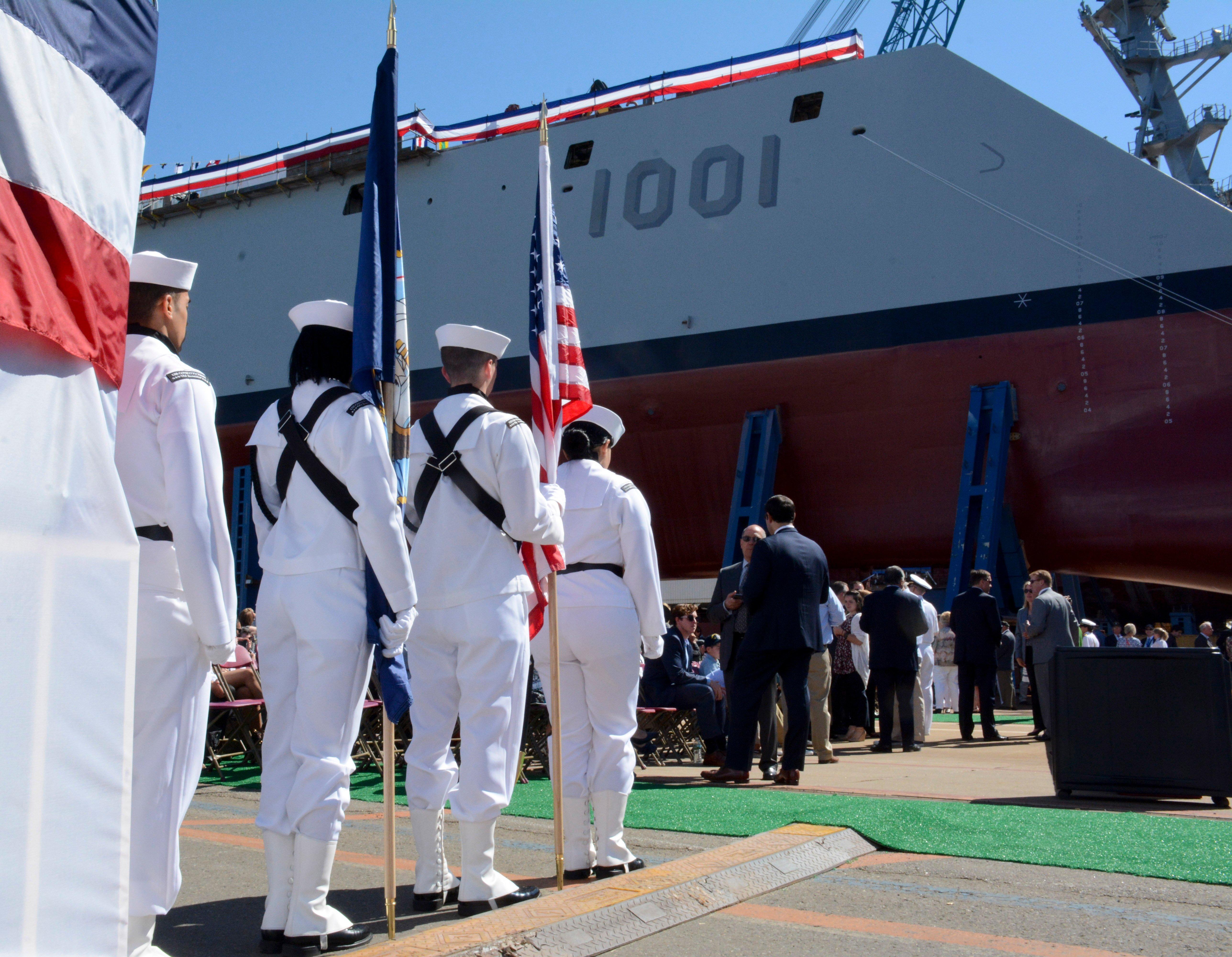 Electrical Problems Shorten Second Zumwalt-class Destroyer's